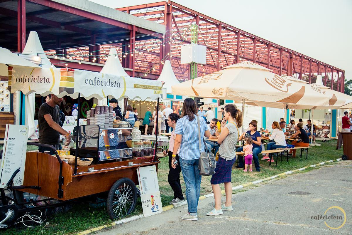 Cafecicleta la Street Food Festival